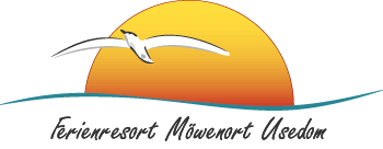Logo des Ferienresorts M�wenort in L�tow auf der Ostsee - Insel Usedom