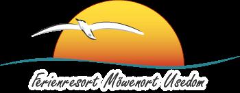 Logo des Ferienresorts Möwenort in Lütow auf der Ostsee - Insel Usedom